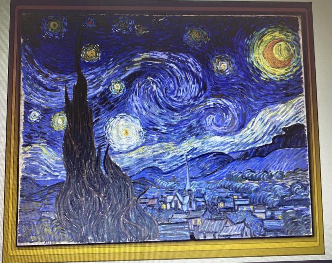 Vincent Van Gogh The Starry Night 1889
