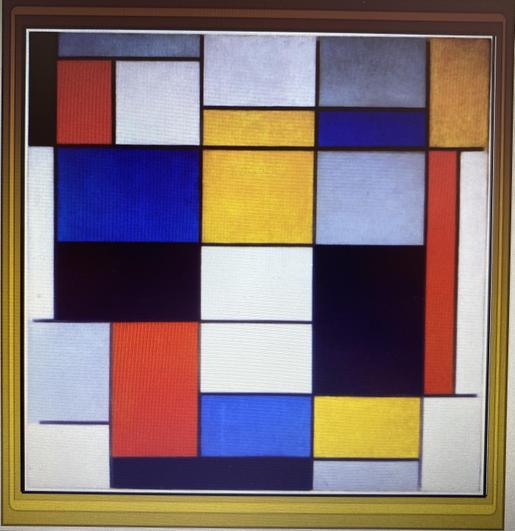 Piet Mondrian Composition A 1920
