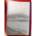 We sketched from photos of seascapes and river scenes.
