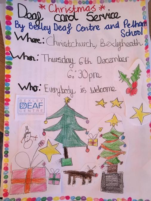 Please come and join us at the Deaf Carol Service