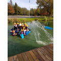 Raft Building!