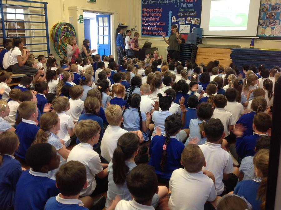 Singing Assembly - Signing and Singing