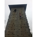 Miss Wallace's group climbing 7