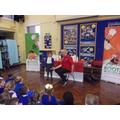 Darren ran a workshop for Y1 & Y2 children too