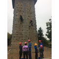 Miss Wallace's group climbing 8