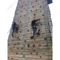 Mr Baines' Group Climbling