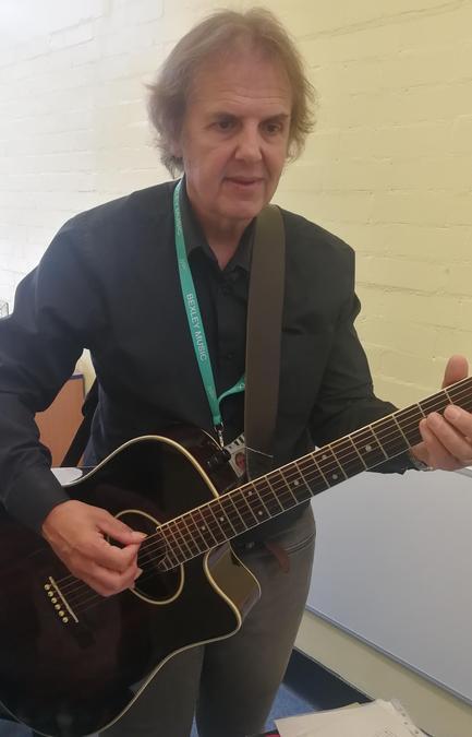 Mr Lea, guitar teacher