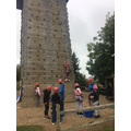 Miss Wallace's group climbing 3