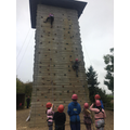 Miss Wallace's group climbing 2