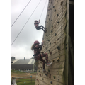 Miss Wallace's group climbing 5