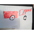 Katie's lovely fire engine