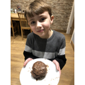 Izaak was inspired by Ethan to try the Maddie Moate chocolate science!