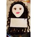 Jaimee's wonderful self-portrait!