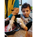 Seb made his own kebabs - would you like the recipe? Scroll through!
