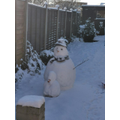3rd - THE MOST COOL ONE: Reggie's Snowman