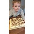 Cory's amazing cake made followed his recipe!