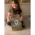Lizzie's amazing Topic project about the police!