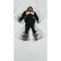 Cory's snow angel.