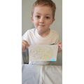 Cory's super squiggle drawing!