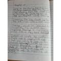 Alfie-  Start of his writing