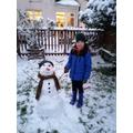 1st - MR HALLIWELL'S FAVE: Seb - Snowman