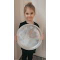 Elsie's amazing clock!
