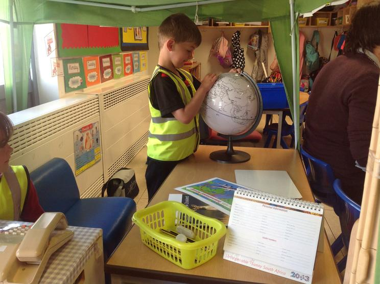 Exploring the globe in the Travel Agents