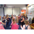 Christmas party - musical statues