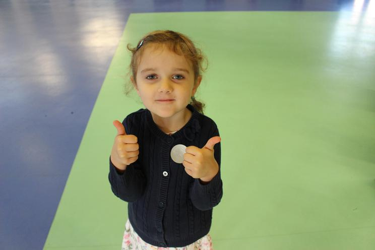 Eva - for her excellent attitude and learning