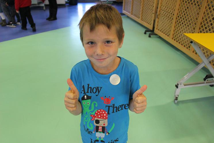 Kyle - for his excellent attitude