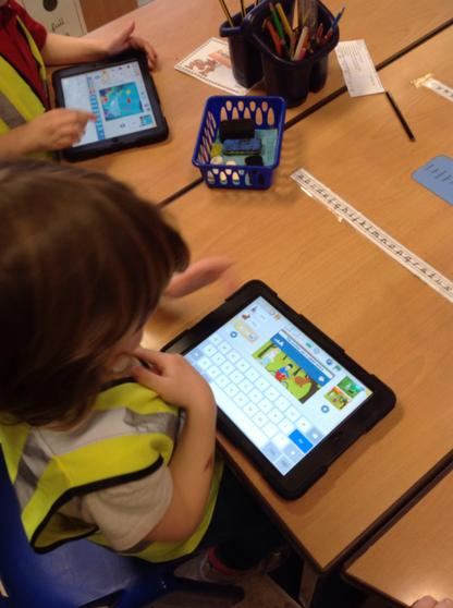 Using Scratch on the iPads
