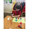 Creating shape castles