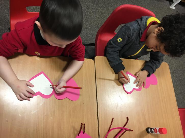 Writing our messages inside