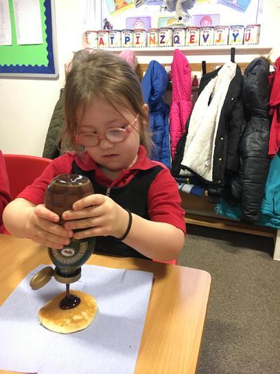 Chocolate pancakes...Good choice!