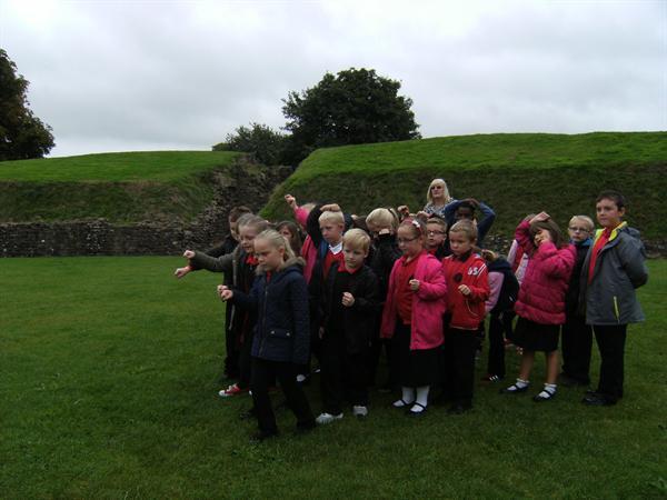 Romans at Caerleon