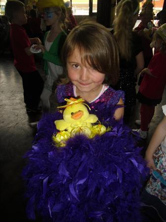 Easter Bonnet Winner Ruby David