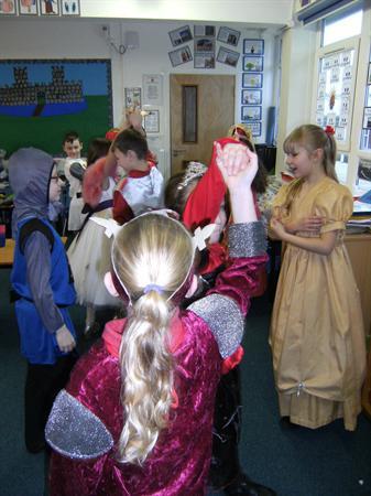 Everyone enjoyed the dancing!
