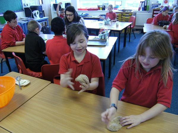 Making our bread
