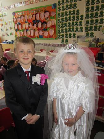 Bride and Bride's Father