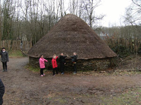 Stone walled roundhouse
