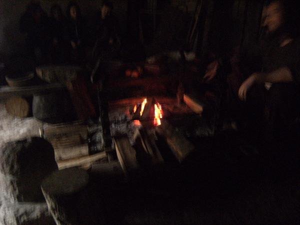 Fire in the roundhouse