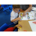Matching the numicon shapes