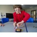 We started to use motors/buzzers in our circuits.