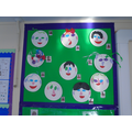 Our paper plate portraits