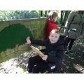 We explored different textures.