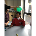 We enjoyed finding out about static electricity.