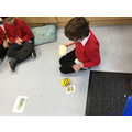 We made the Beebot turn left and right.