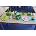 Here are our lovely cup cakes
