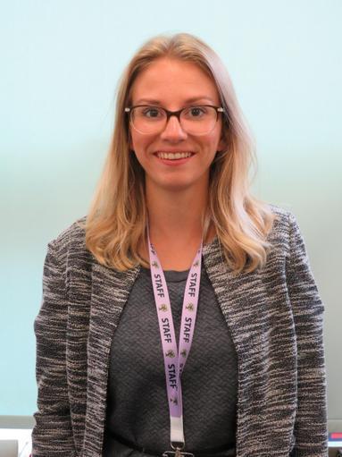 Miss Green - Reception Teacher