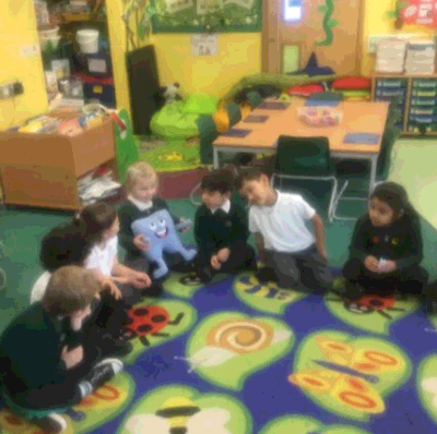 Reception being open minded in a PSHE lesson: